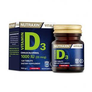 Дієтична добавка BIOTA Вітамін D3 NUTRAXIN 120 таблеток (4743004)