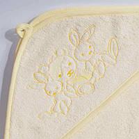 Полотенце для новорожденных Зверята, 80*80