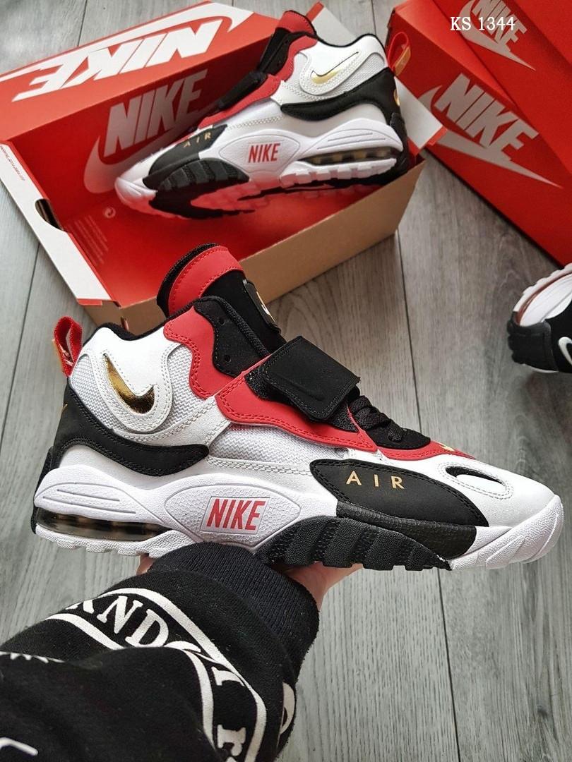 Мужские кроссовки Nike Sportswear Air Max Speed Turf (бело-красные)