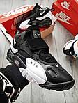 Чоловічі кросівки Nike Sportswear Air Max Speed Turf (чорно-білі), фото 2
