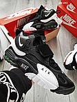 Чоловічі кросівки Nike Sportswear Air Max Speed Turf (чорно-білі), фото 4