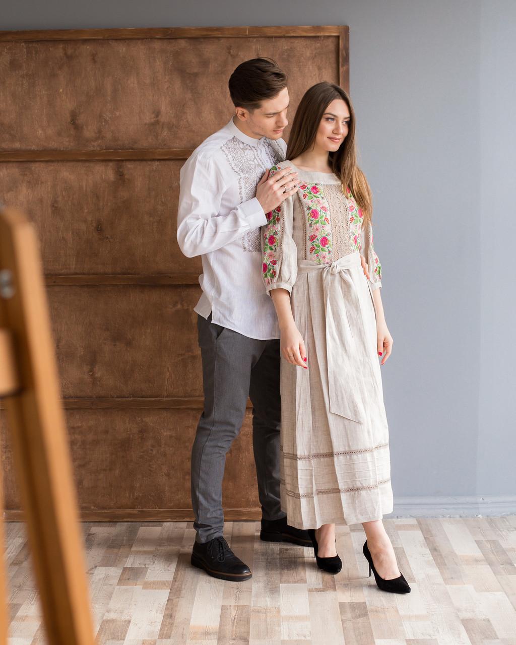 Парні вишиванки сукня та сорочка