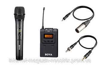 Микрофон Boya BY-WHM8 и беспроводной ресивер WM6R Boya WM6-K2