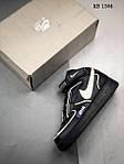 Мужские кроссовки C2H4 Nike Air Force 1 Mid (черные), фото 3