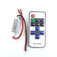 Беспроводной контроллер 1к LED лент, 12-24В, 6А (00429)