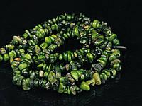 Крихта з зеленого корала. 90см, фото 1