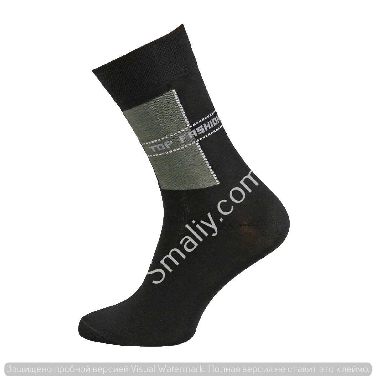 Демисезонные мужские носки с рисунком