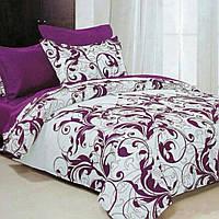 Полуторный комплект качественного постельного белья из бязи.