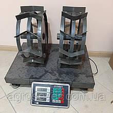 Грунтозацепы к мотоблоку 400/160 С полуосью 32мм