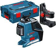 Лазерный нивелир BOSCH GLL 3-80 P + BM1 (нов) в L-BOXX