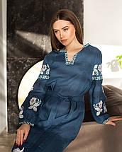 Лляні вишиванки сукня та сорочка, фото 3