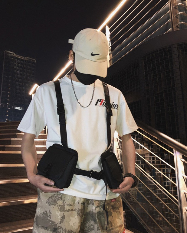 Бронежилет HGUL+BAG нагрудная сумка 0007