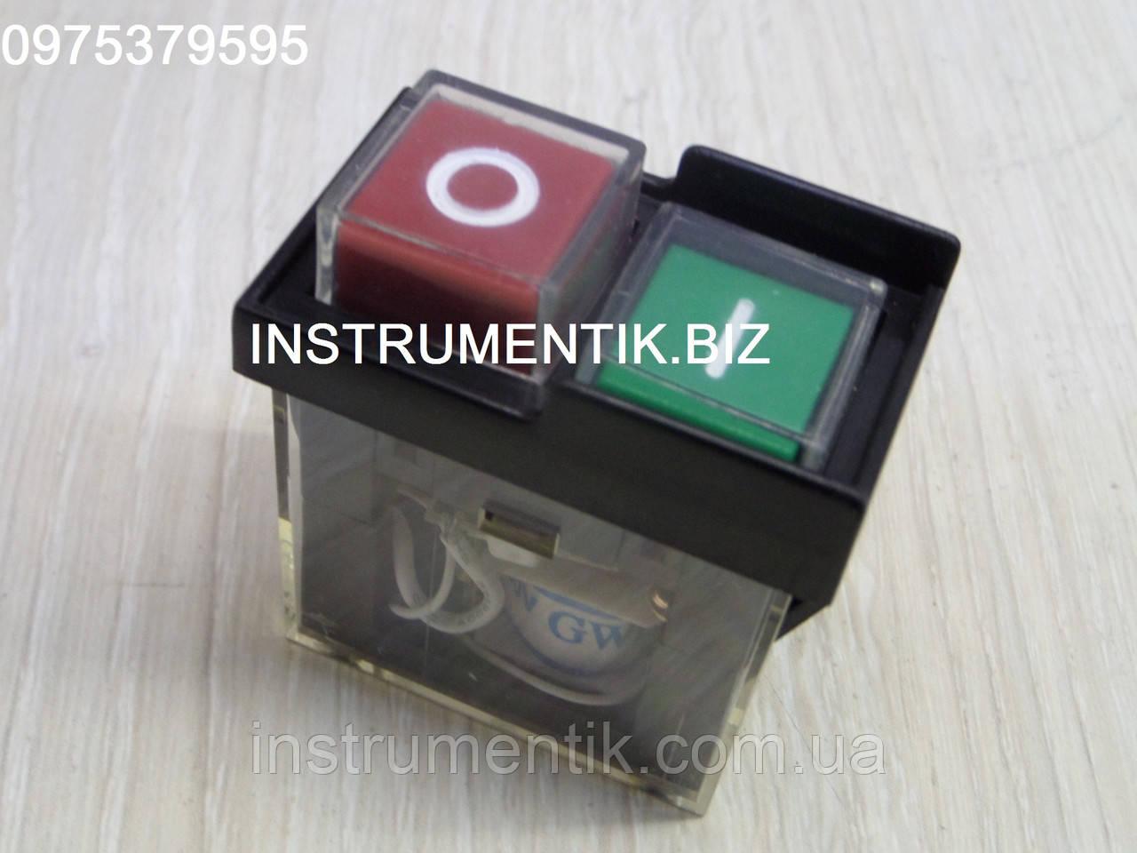Пусковая электромагнитная кнопка KJD6 к китайской бетономешалке