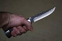 """Нож кованный охотничий """"Гепард"""". Производство Россия, Ворсма. Туристический нож, ручная сборка."""