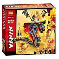 """Конструктор Ninja Bela 11329 """"Огненный кинжал"""" (аналог Lego Ninjago 70674), 487 дет"""