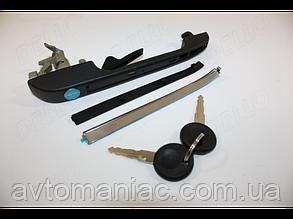 Ручка двери передней левой с ключами Volkswagen CADDY, GOLF, JETTA, PASSAT, POLO, SCIROCCO
