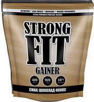 Гейнер Strong FIT Gainer 10% protein (909 g шоколад-кокос)