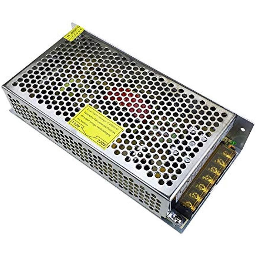 Блок питания перфорированный 5В 20А 100Вт, 2-кан для LED-лент CCTV (04