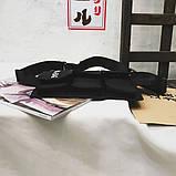 Бананка HGUL+BAG на четыре отделения черная, фото 4