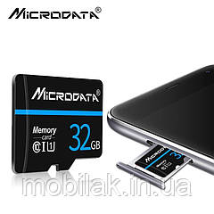 Карта памяти класс 10 SDXC MICRODATA 32 Гб