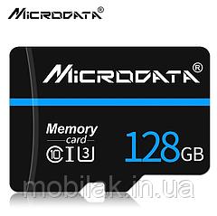Карта памяти класс 10 SDXC MICRODATA 128 Гб
