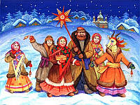 Традиції та обряди «Щедрого вечора»: щедрування, водіння Маланки, свинина і кутя.