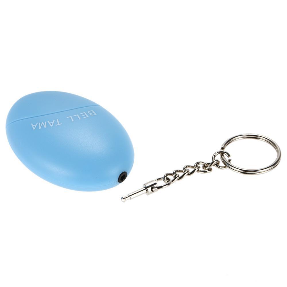 Персональная сигнализация брелок сирена для самообороны 120дБ «яйцо с чекой»