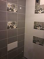 Плитка для ванной Olivia grey Cersanit Оливия 25*40 Церсанит, фото 1