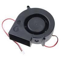 Вентилятор равлик 97мм 12В 2пин відцентровий турбіна кулер ЧПУ, сервера