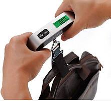 Весы багажные дорожные для багажа электронные до 50кг безмен кантер (03454)