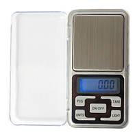 Карманные ювелирные весы электронные до 200г, 0.01г точность