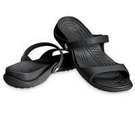 Crocs Cleo Sandal оригинал США W8 38-39 спортивные  сандалии сланцы босоножки кроксы крокс original