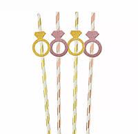 Трубочки для девичника, трубочки для свадьбы