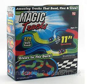 Magic tracks світиться дорога 220 деталей, гоночна траса