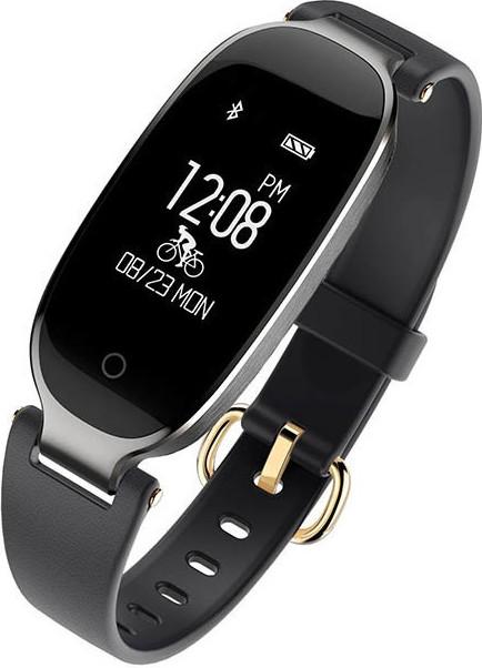 Фитнес-трекер умный браслет Lemfo S3 (Черный)