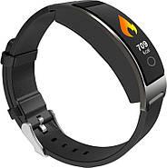 Умный фитнес-браслет Finow CK11S Plus с тонометром (Черный), фото 2