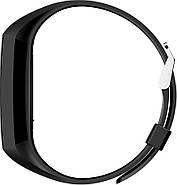 Умный фитнес браслет NO.1 DT58 с ЭКГ и тонометром (Черный), фото 4