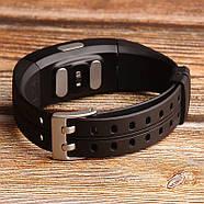 Умный фитнес браслет Lemfo P3 Plus с ЭКГ и тонометром (Черный), фото 6