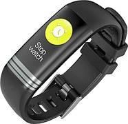 Умный фитнес браслет Lemfo G26S с измерением давления и сатурации крови (Черный), фото 3