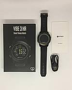 Умные часы Zeblaze VIBE 3 HR с пульсометром и шагомером (Черный), фото 6