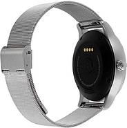 Умные часы Lemfo K88H с пульсометром (Серебристый), фото 2
