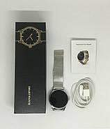 Умные часы Lemfo K88H с пульсометром (Серебристый), фото 4