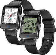 Умные часы Lemfo CV16 с двойным дисплеем (Черный), фото 2