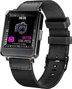 Умные часы Lemfo CV16 с двойным дисплеем (Черный), фото 6