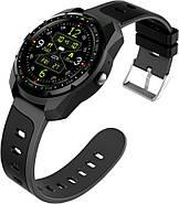 Умные часы King Wear KW01 с влагозащитой и пульсометром (Черный), фото 2