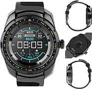Умные часы King Wear KW01 с влагозащитой и пульсометром (Черный), фото 6