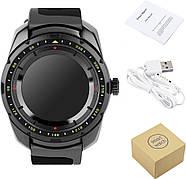 Умные часы King Wear KW01 с влагозащитой и пульсометром (Черный), фото 7
