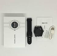 Умные часы King Wear KW01 с влагозащитой и пульсометром (Черный), фото 9