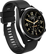 Умные часы King Wear KC05 на Android 7.0 с поддержкой GPS (Черный), фото 3