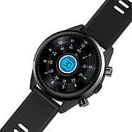 Умные часы King Wear KC05 на Android 7.0 с поддержкой GPS (Черный), фото 4
